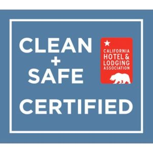 CHLA CLEAN & SAFE CERTIFIED logo
